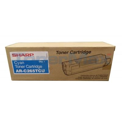 SHARP AR-C265P TONER CARTRIDGE CYAN